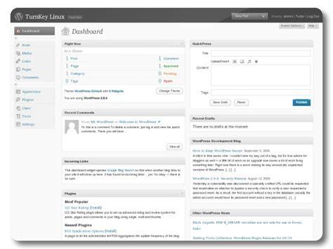 Turnkey Gnu/linux Screenshot