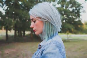 Gray Pastel Hair Color