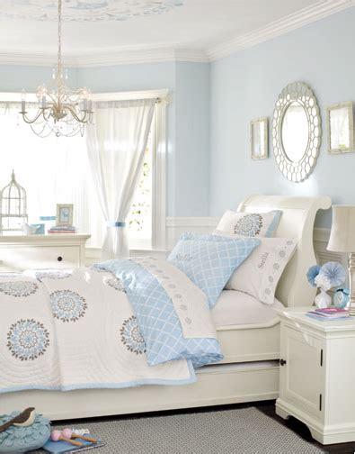 light blue and white bedroom 10 ideias de decora 231 227 o para quartos de menina ᐅ mil 19030 | menina6
