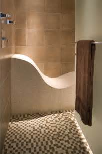 bathroom bench ideas curved shower bench