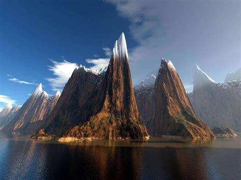 bureau hello fond d 39 ecran paysage montagne wallpaper