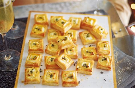 puff pastry canapes ideas goat 39 s cheese bites recipe food ideas tesco