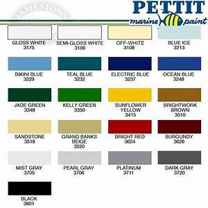 Interlux Perfection Paint Color Chart 1962 28ft M E M C O Sportfisher Restoration Page 36