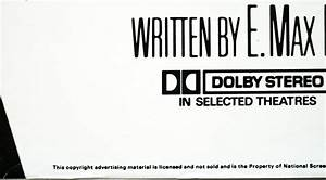 Dolby Stereo In Selected Theatres Pictures to Pin on ...