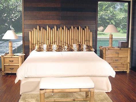 Bamboo Bedroom Set by Hospitality Rattan Bamboo Bedroom Set By Oj
