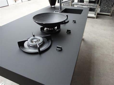 cheap black sinks kitchen kitchen nanotech countertop in black with built in gas 5241