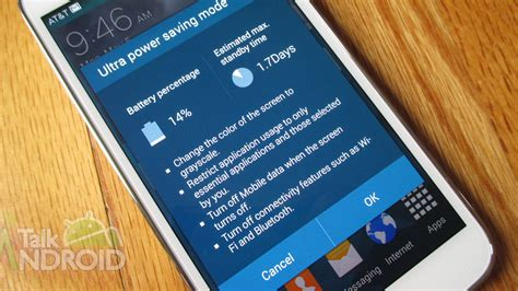 how to save precious battery with ultra power saving mode on the galaxy s 5