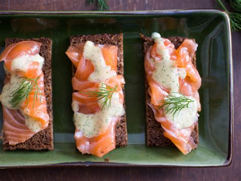gravlax recipe party cocktail food luxury recipes dill mustard salmon sauce foods appetizers snacks cured caraway luxurious elegant hors most
