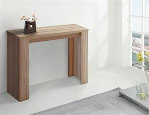 Console Chene Clair : table console chene ~ Teatrodelosmanantiales.com Idées de Décoration