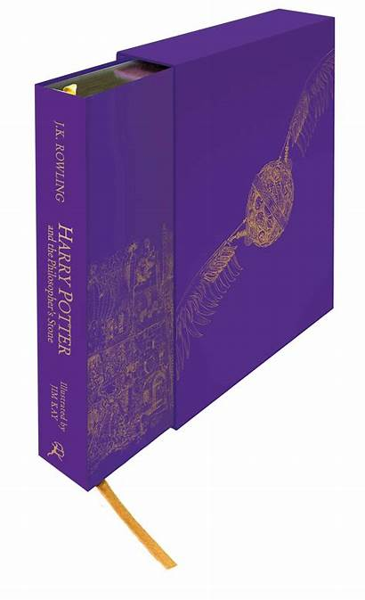 Illustrated Edition Deluxe Stone Potter Harry Philosopher