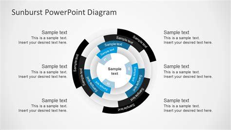 multilevel sunburst diagram powerpoint templates