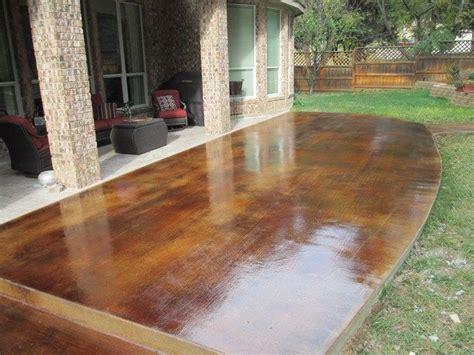 best gravel for driveway stained wood grain concrete patios custom concrete 4461