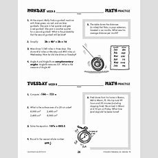 Daily Math Practice Grade 8 Use It! Don't Lose It! #ip6133  World Book Store