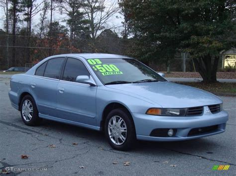 2003 Mitsubishi Gallant by 2003 Chrome Blue Pearl Mitsubishi Galant Es 22277738
