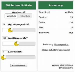 Bmi Berechnen Kinder : bmi rechner kinder f r die eigene webseite widget banane ~ Themetempest.com Abrechnung