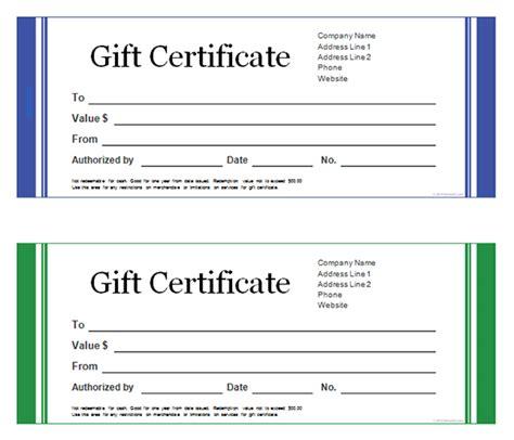 gift certificate template word peerpex