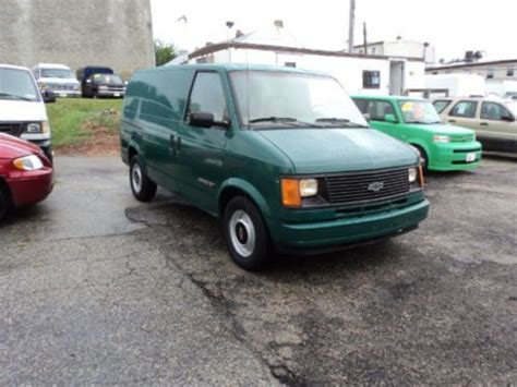 purchase   chevrolet astro base extended cargo van