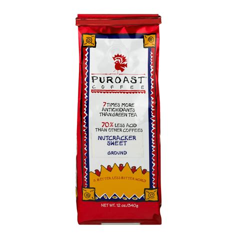 See 25 unbiased reviews of puroast coffee, ranked #767 on tripadvisor among 4,556 restaurants in miami. Puroast Nutcracker Sweet Low Acid Ground Coffee, 12 oz Bag - Walmart.com - Walmart.com