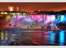 Il Festival delle Luci alle cascate del Niagara il Winter