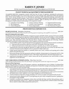 executive resume sample operations management on behance With executive manager resume