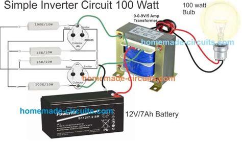 Simple Inverter Circuits