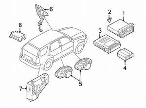 Ford Explorer Sport Trac Cd Player Bracket  Cd Player