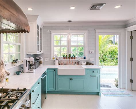 turquoise painted kitchen cabinets custom kitchen with turquoise cabinets home bunch 6400