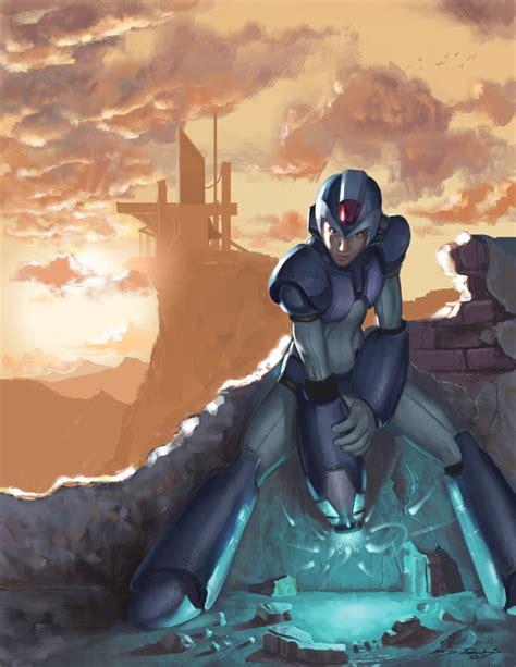 Megaman Tribute Entry By Dhtenshi On Deviantart