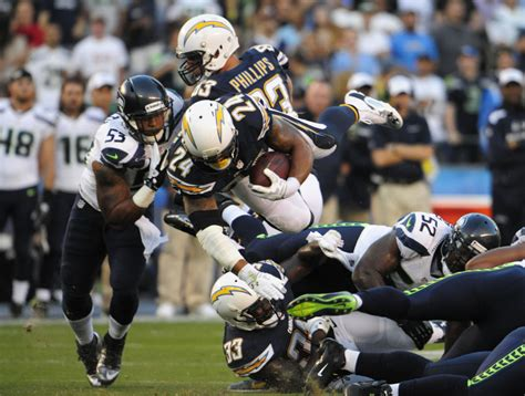 seattle seahawks  los angeles chargers