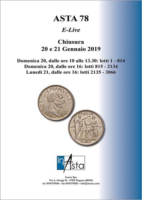 in asta asta monetepanorama numismatico panorama numismatico