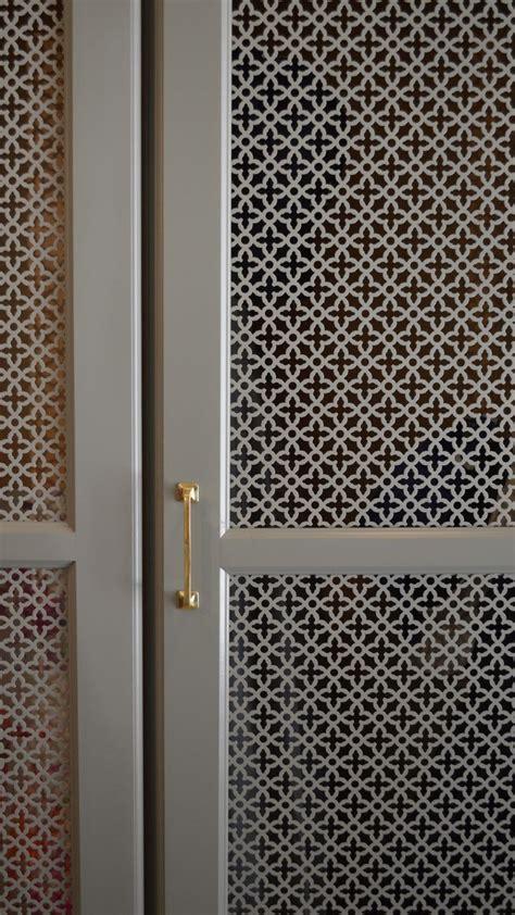 locker detail perforated metal amanda orr architects