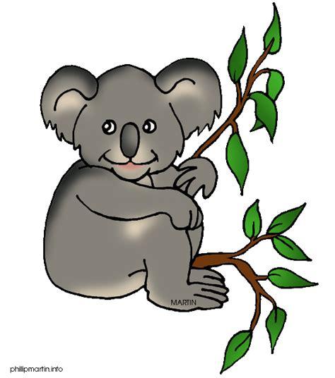 Clipart Koala by Animals Clip By Phillip Martin Koala