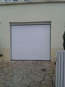 porte de garage sectionnelle a malzeville 54220 allo With pose d une porte de garage sectionnelle motorisée