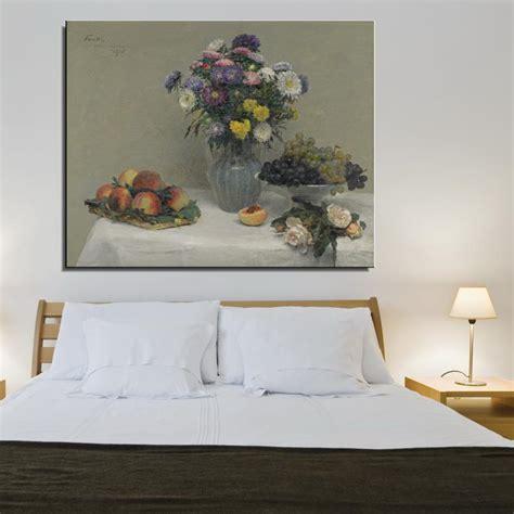 peony Flower Classic Canvas Oil Painting Frameless Spray