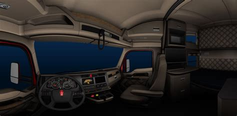 hotshot driver kenworth t680 truck interior for ats game american truck