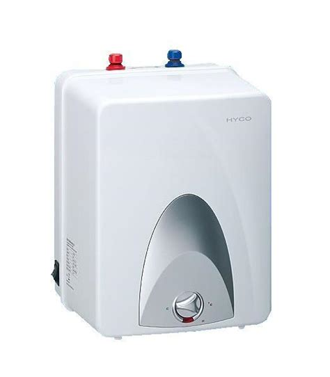 under sink water boiler hyco unvented electric under sink water heater 10 litre