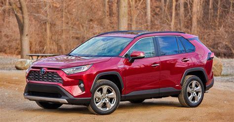 toyota rav hybrid review suv sales champ