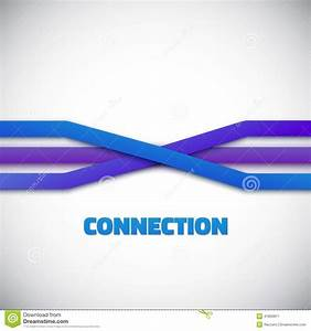 Internet People Connection Lines Vector Background Stock ...