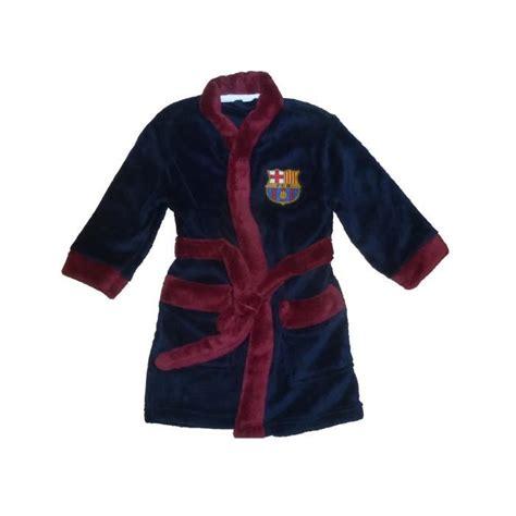robe de chambre enfants robe de chambre peignoir enfants fc barcelone sur pyjama
