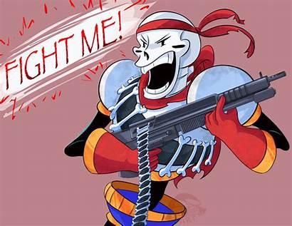 Undertale Papyrus Fight Commando Spacejacket Deviantart Wants