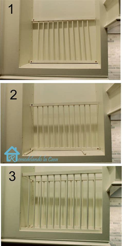 diy  cabinet plate rack cabinet plate rack diy kitchen shelves kitchen design diy