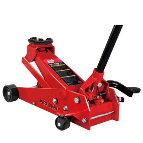 home depot house floor jacks big red 3 5 ton steel floor jack t83502 the home depot