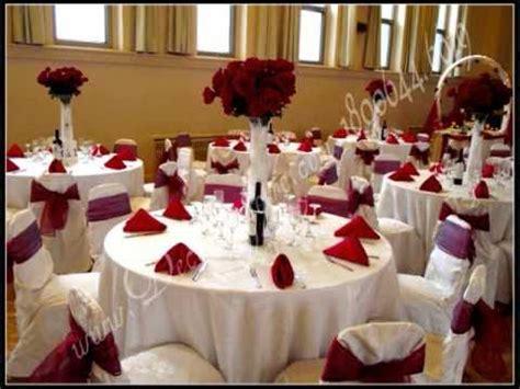 decoration de tables  de salles de reception