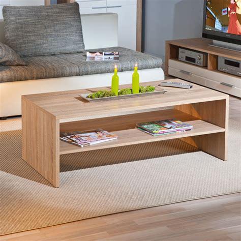 sonoma oak coffee table utopia wooden coffee table in sonoma oak with undershelf