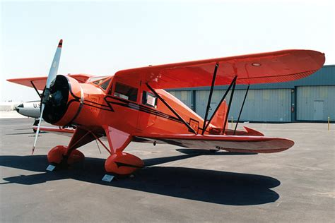 1933 Waco UEC, Single-engine four-seat cabin biplane