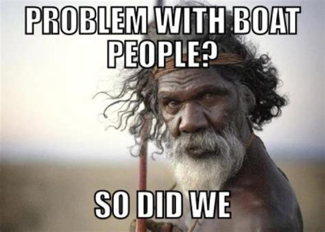 Boat People Meme - another perspective on boat people