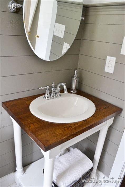 guest bathroom vanity guest bathroom makeover reveal beneath my
