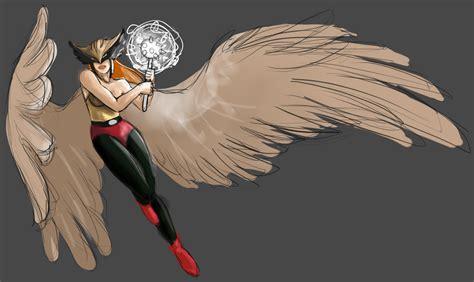 Hawkgirl [wip] By Zwiezda.deviantart.com On @deviantart