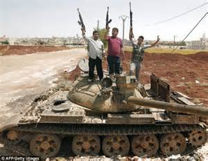 city siege 2 syrian rebels use stolen tank against assad as troops kill