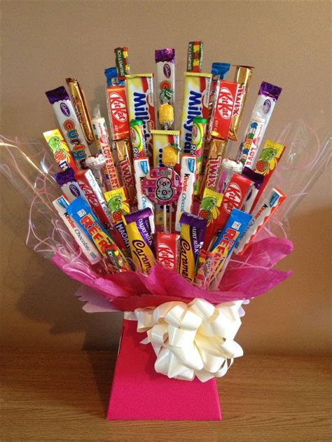 ideas  chocolate bouquet  pinterest